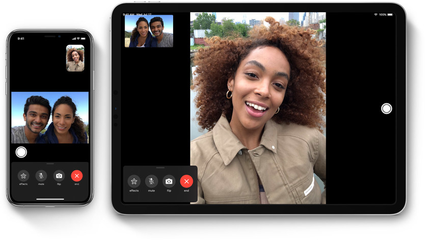 ios13-ipad-pro-iphone-xs-facetime-hero