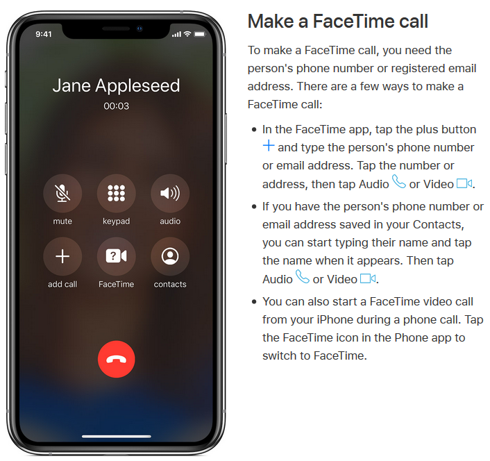 make-a-facetime-call